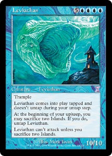 Magic: the Gathering's Leviathan is (C) Wizards of the Coast.