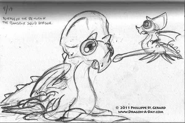 The Revenge of the Return of the Dinosaur-Squid-Dragon