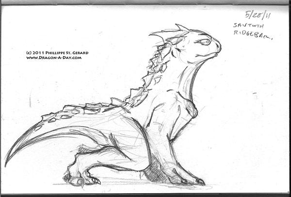 sawtooth ridgeback dragon