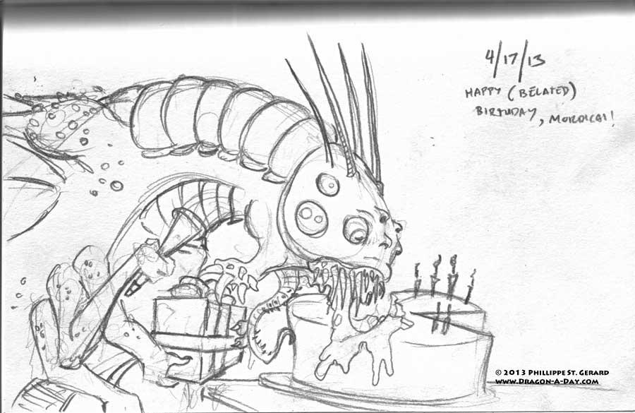 04172013 - I Made You A Birthday Cake...