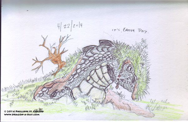 04222014 - Earth Day, Earth Dragon.