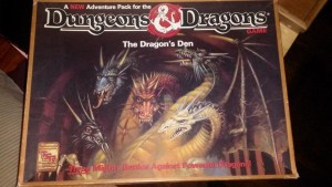 2nd ed Dragon's Den
